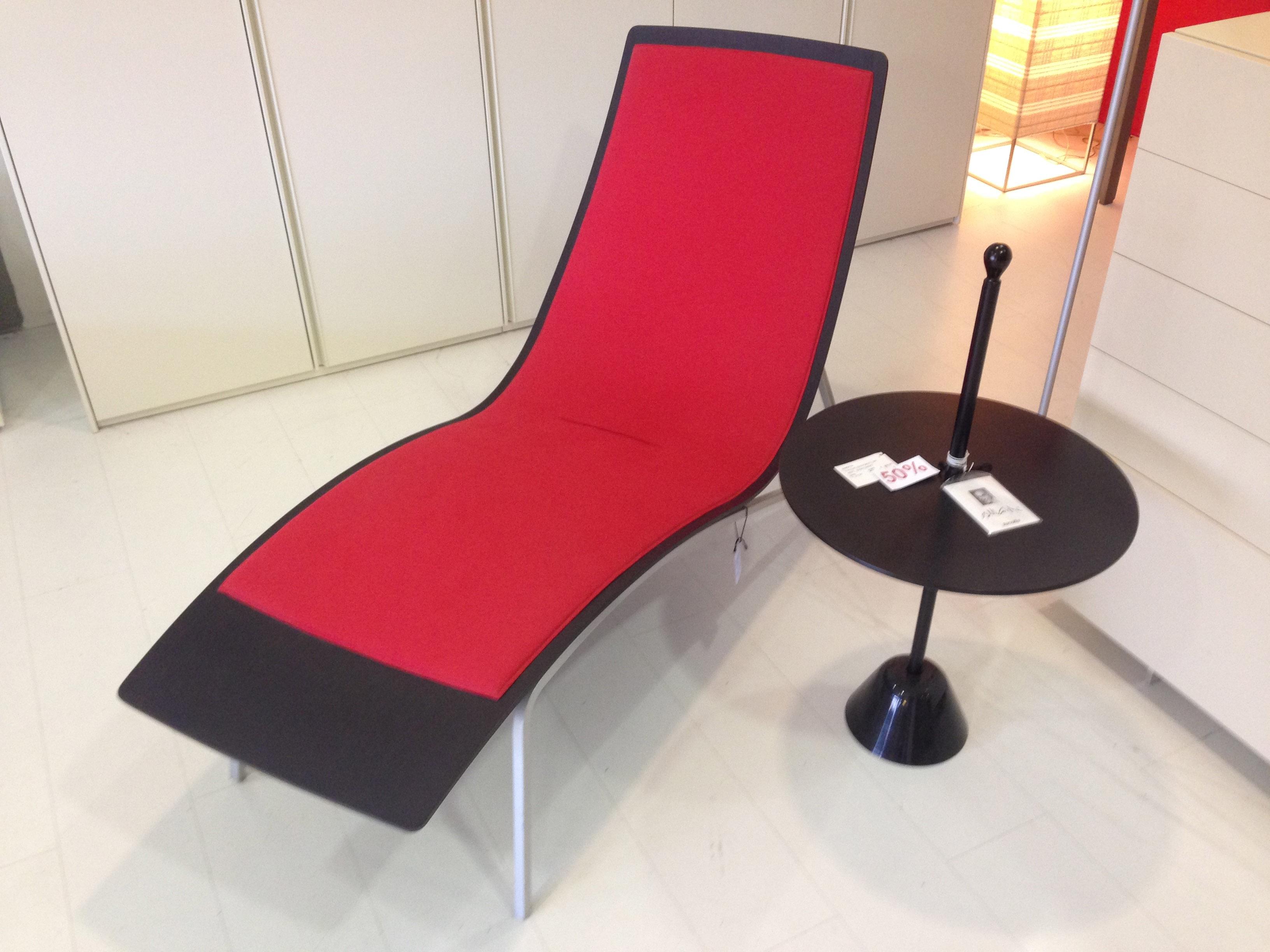 Poltrona molteni scontata del 68 chaise longue divani a for Poltrona chaise longue