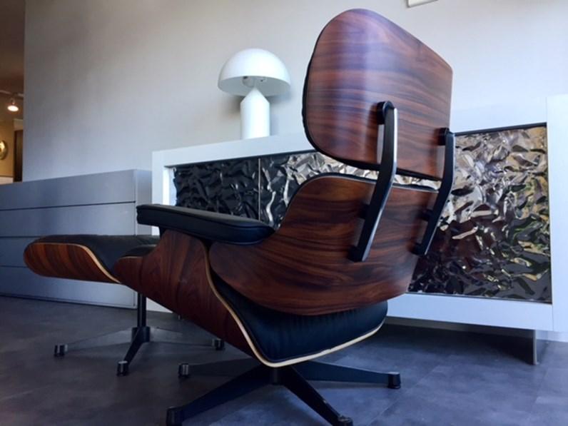 Poltrona Con Poggiapiedi Design.Poltrona Poggiapiedi Esprit Nouveau Production Modello Ottoman E 83 84 P Design Charles Eames