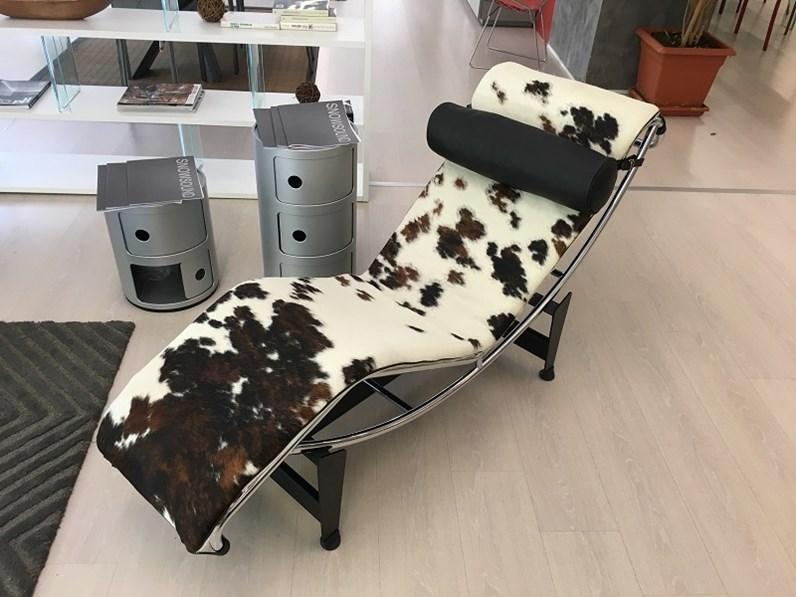 Poltrona relax chaise longue le corbusier sigerico sconto del