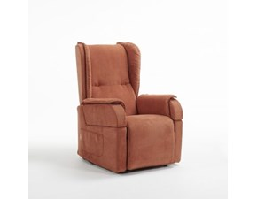 Poltrona relax in stile Moderno Con movimento relax a prezzi outlet
