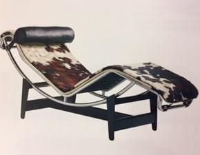 Poltrona relax in Tessuto Chaise lounge - art.e/4/c - le corbusier Esprit nouveau