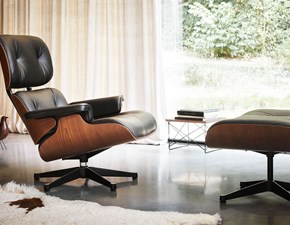 Poltrona relax Lounge chair & ottoman charles e ray eames vitra  Vitra in offerta
