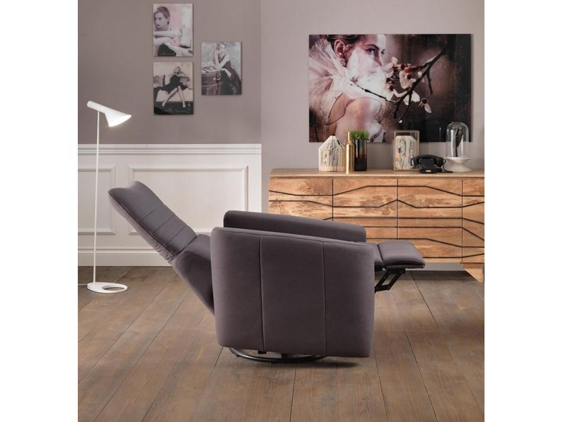 Poltrona relax Magic Stones in Offerta Outlet