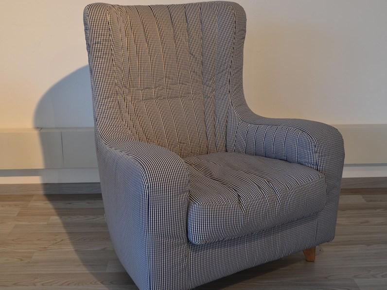 Minotti divano pezzo unico modello fuori produzione poltrone tessuto