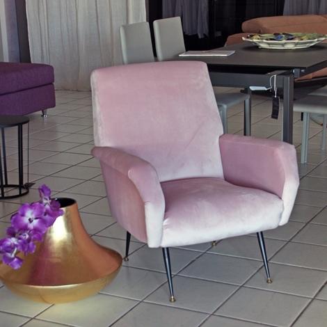 Divano poltrona vintage tessuto divani a prezzi scontati - Divano profondita 75 ...