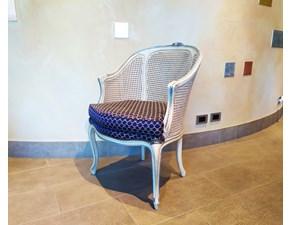 Poltroncina in paglia di vienna di Bellotti SUPER OFFERTA OUTLET