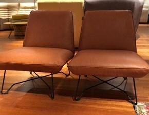 Poltroncina in stile Design Con seduta fissa in offerta