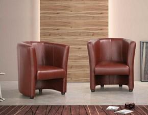 Poltroncina in stile Moderno Con seduta fissa con forte sconto