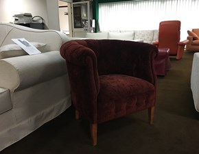 Poltroncina in Tessuto Parigina Vama divani