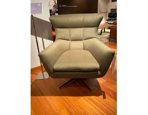 Poltroncina Jacob small swivel Calia in Offerta Outlet
