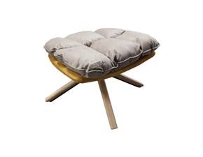 Pouf Poggiapiedi carrubo ottoman - 50 x 64 x 43h cm Artigianale ad un prezzo vantaggioso