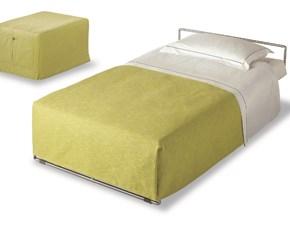 Pouff trasformabile in letto sfoderabile