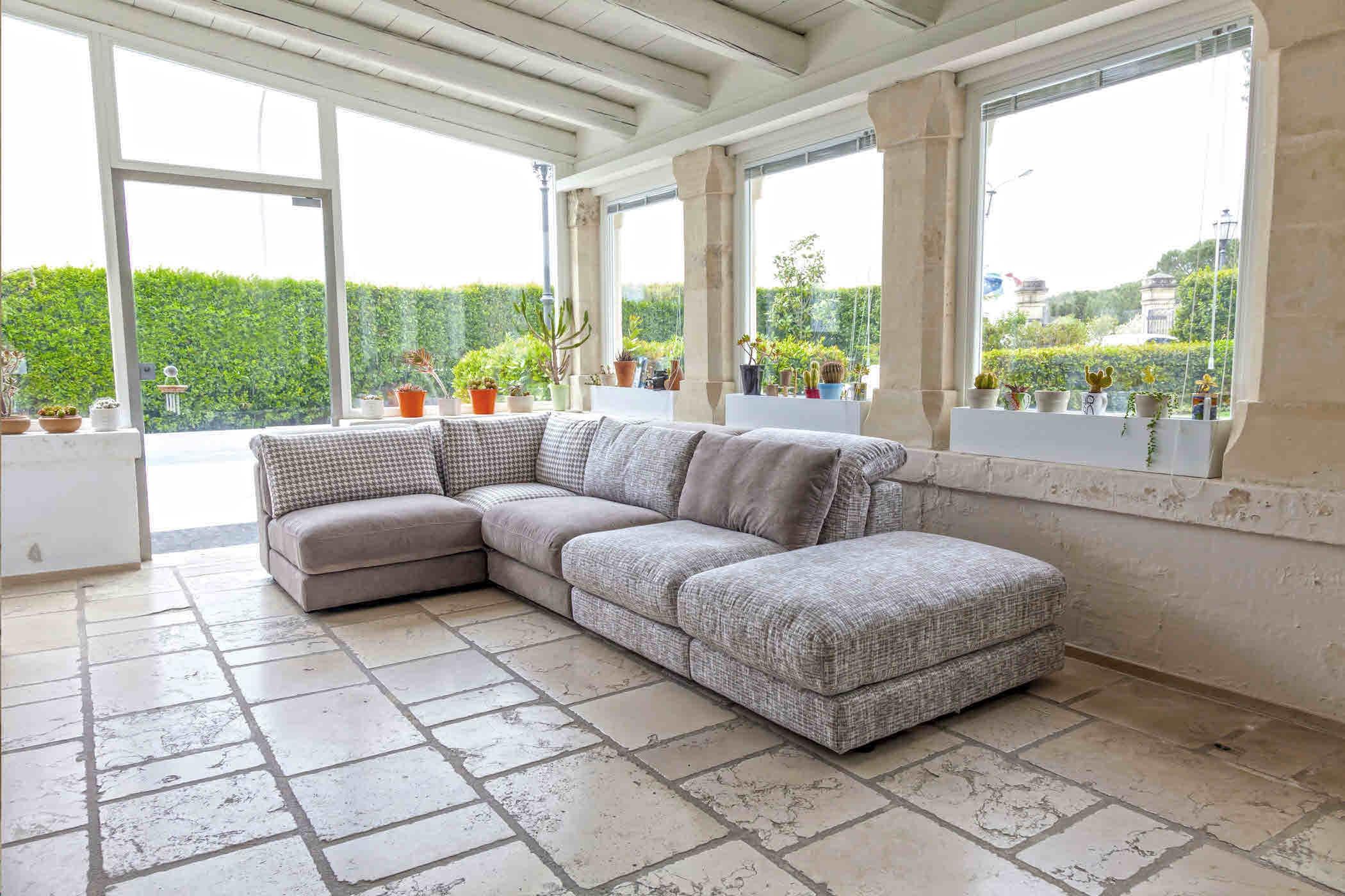 Promo sconto 48 divano nicoletti home mod perle tessuto for Divano nicoletti