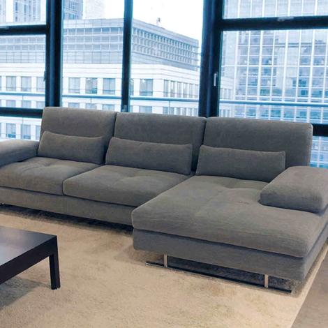 Promozionale divano nicoletti serena pelle sconto 47 for Divano nicoletti