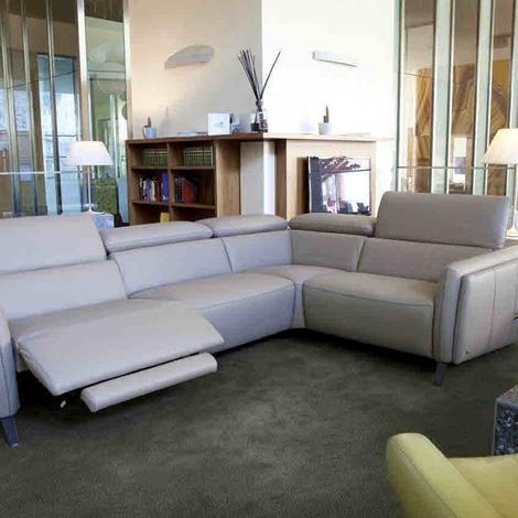 promozione divano nicoletti home mod allure pelle