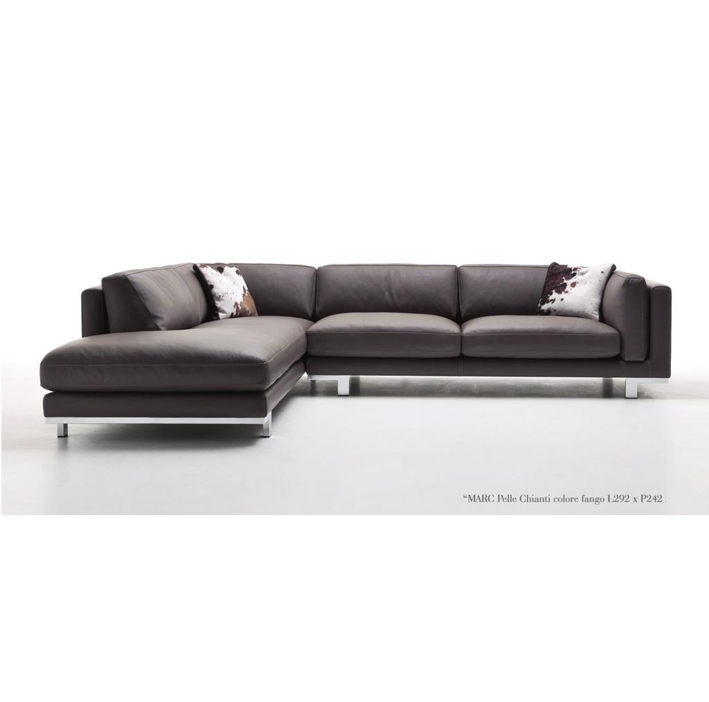 Divano murtarelli salotti design marc scontato del 40 for Misure divano angolare