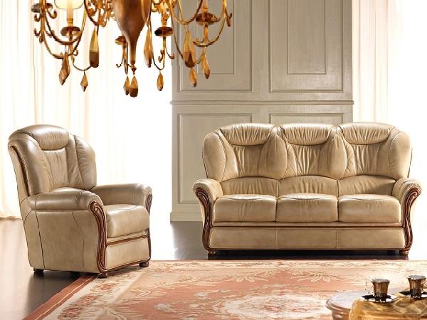 salotto classico pelle promo divani a prezzi scontati