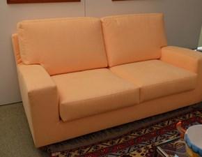 Salotto Pozzi modello Aladino in Alcantara divano 2 posti