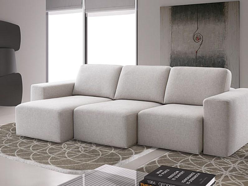 Samoa divano lineare modello drop - Imbottitura divani poliuretano ...