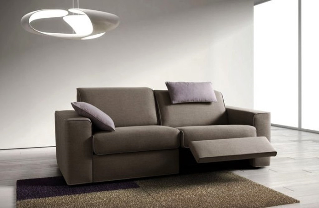 Samoa divano soul stoffa divani relax tessuto divano 3 for Divani e divani relax