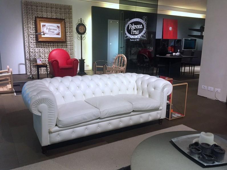 Poltrona frau divano chester scontato del 30 for Divani frau outlet