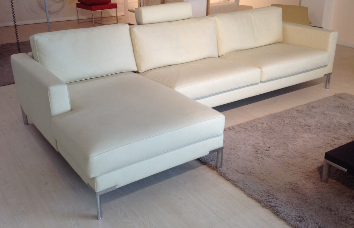 Zottarelli divano ginger pelle pieno fiore angolare divano angolare pelle divani a prezzi scontati - Copridivano angolare per divano in pelle ...