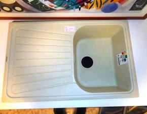 Plados Elettrodomestico Lavello cm 80 spazio pietra vecchia ultragranit 1 vasca + sgocciolatoio