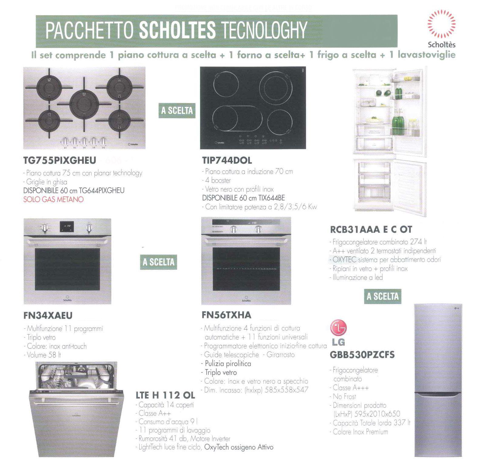 Kit elettrodomestici Scholtès Scholtes tecnology scontato del -66 ...