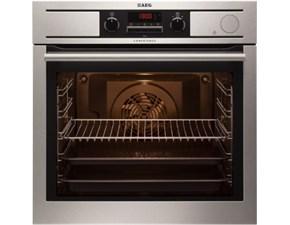 Forno AEG modello BP5014301M. Forno XXL 8 funzioni ( di cui una a vapore) più riscaldamento rapido e controllo della temperatura.