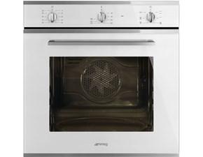 Forno Smeg Smeg forno elettrico da incasso sf64m3vb capacità 70 l multifunzione termoventilato potenza 3000 w colore bianco in Offerta Outlet