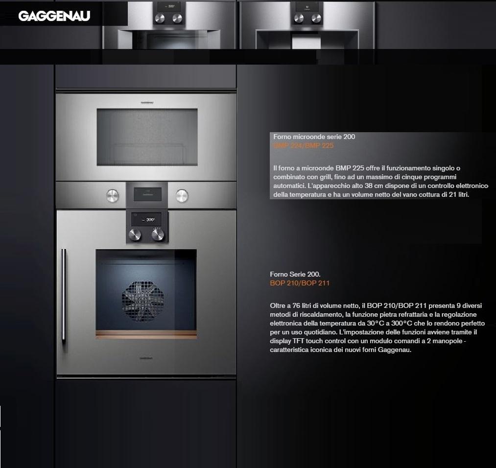 Elettrodomestico gaggenau forno microonde cucina gaggenau scontato del 31 - Cucine gaggenau ...