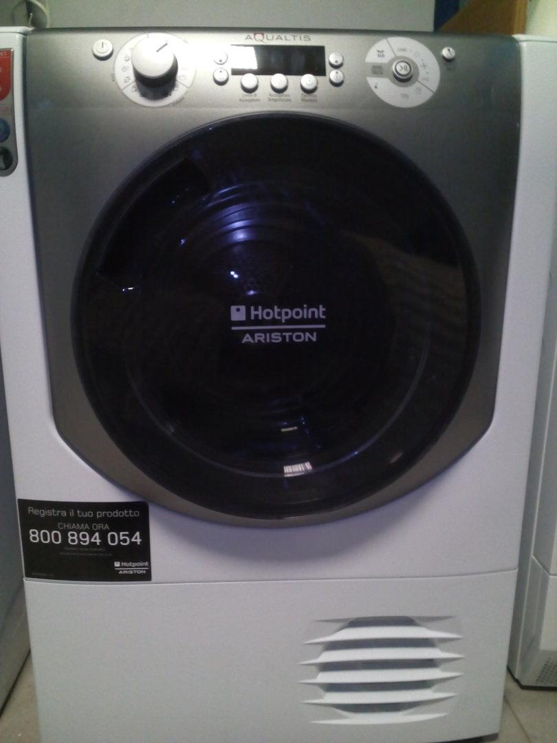 Hotpoint asciugatrice aqc94f5tz1 aqualtis soft dry 9 kg for Asciugatrici condensazione o pompa di calore