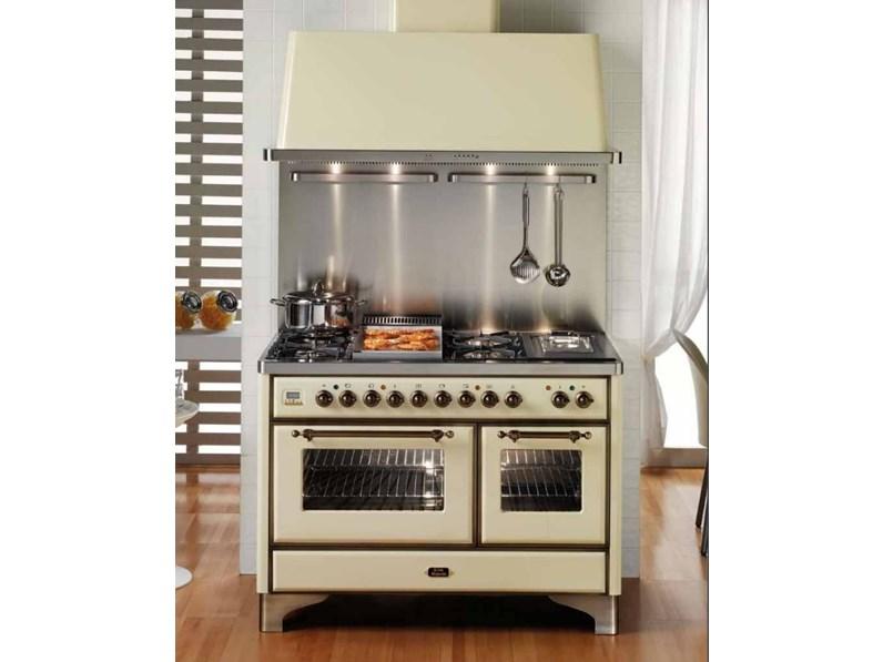 Ilve Cucina Majestic M120FDE3 Completa di Cappa scontata