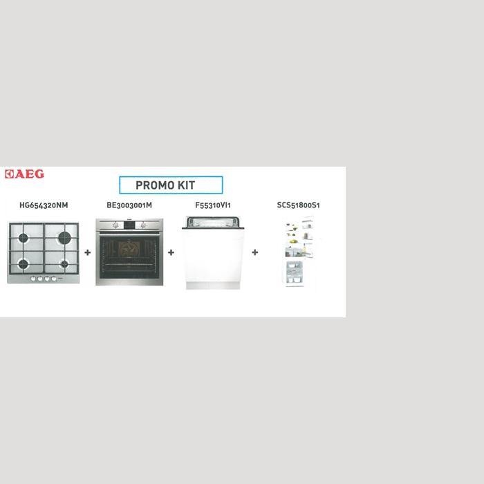 Kit elettrodomestici da incasso aeg forno piano cottura lavastoviglie frigorifero - Forno da incasso aeg ...