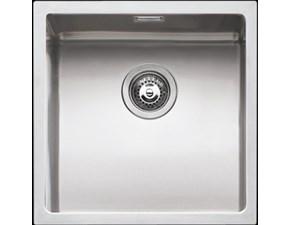 Lavello di grande qualità di Barazza Barazza vasca quadra  scontato