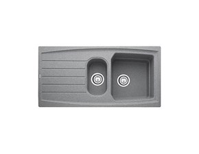 Lavello di grande qualità Franke Franke atmosfera atg 651 stone grey - lavello fragranite stone grey  in offerta