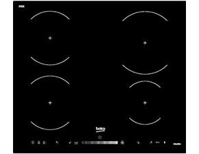 Piano cottura Beko Hii 64520 ht 60 cm a induzione  a prezzo Outlet