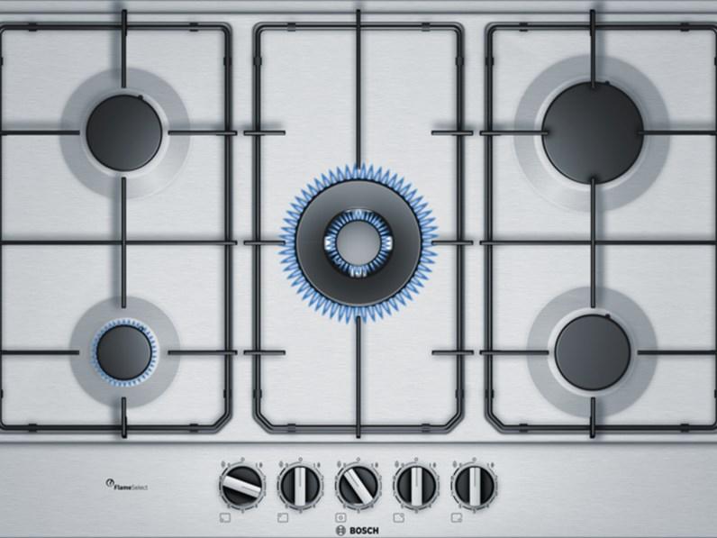 Piano Cottura Bosch ad incasso in acciaio inox modello PCQ7A5B80 ...