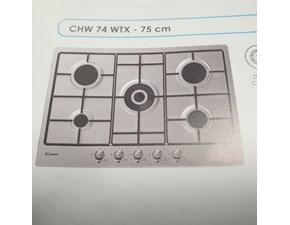 Piano cottura di grande qualità Candy Chw 74 wtx in offerta