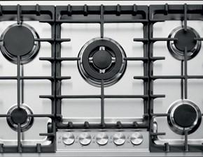 Piano cottura di ottima fattura di Barazza modello Officina 1pof80  SCONTATO