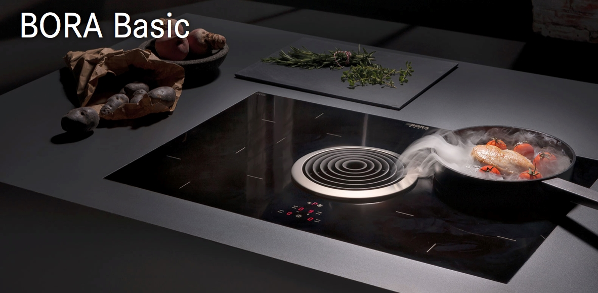 piano cottura e aspirazione bora modello basis biu elettrodomestici a prezzi scontati. Black Bedroom Furniture Sets. Home Design Ideas
