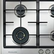 Piano cottura KitchenAid modello KHMD460510. Piano cottura a gas da 60 cm comprensivo di quattro bruciatori.