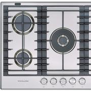 Piano cottura KitchenAid modello KHMD577510. Piano cottura a gas di 77 cm comprensivo di cinque bruciatori a gas.