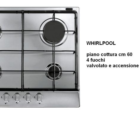 Piano cottura whirlpool inox elettrodomestici a prezzi - Valvola sicurezza piano cottura ...