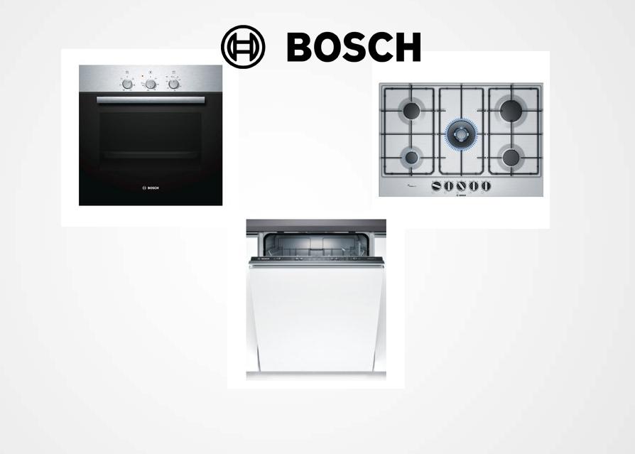 Tris Elettrodomestici Della Bosch Forno Piano Cottura E Lavastoviglie Elettrodomestici A