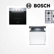 Tris elettrodomestici della Bosch : Forno, Piano Cottura e Lavastoviglie