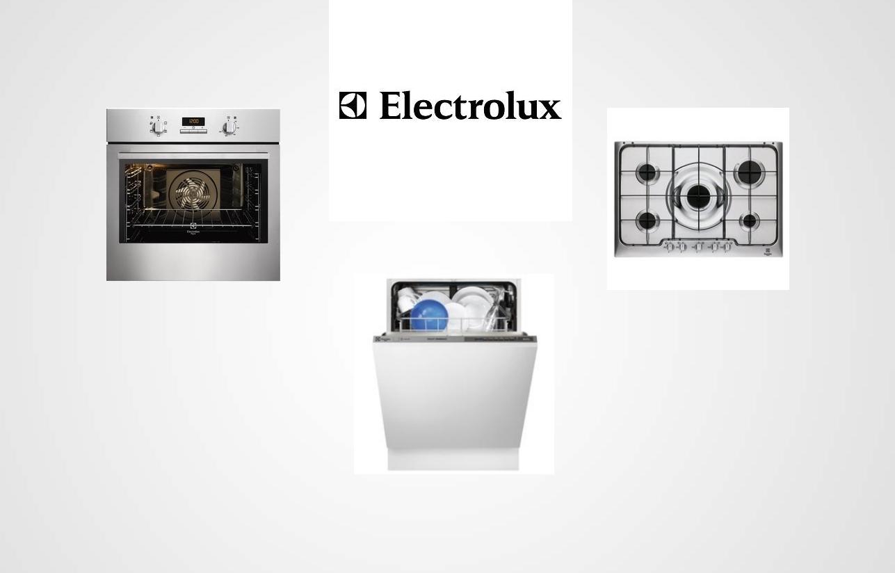 Tris Elettrodomestici Della Electrolux Forno Piano Cottura E Lavastoviglie Elettrodomestici