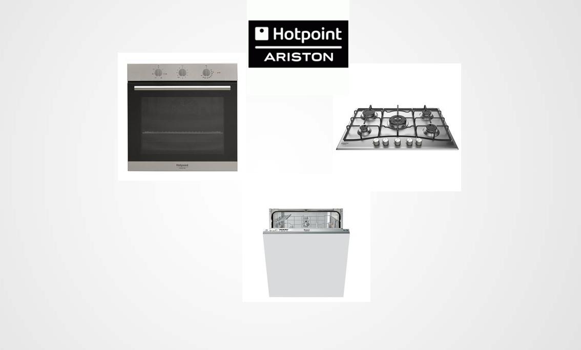 Tris elettrodomestici della Hotpoint Ariston: Forno, Piano Cottura ...