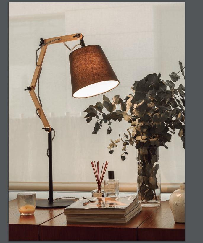 illuminazione aromas del campo a1 lampada da tavolo table lamp amazon illuminazione a prezzi. Black Bedroom Furniture Sets. Home Design Ideas