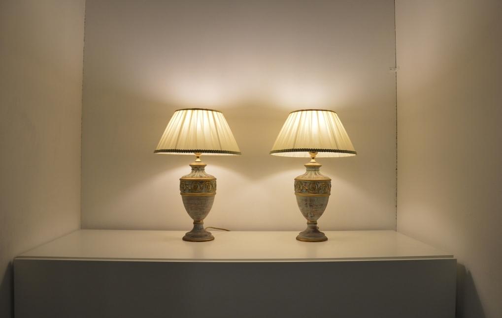 coppia lumi per comodini mod roma illuminazione a